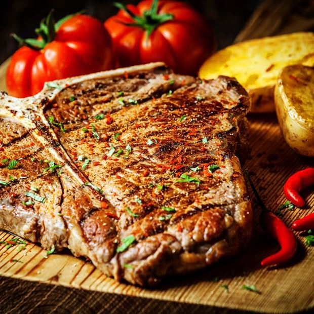 Traditional T-Bone with a Twist